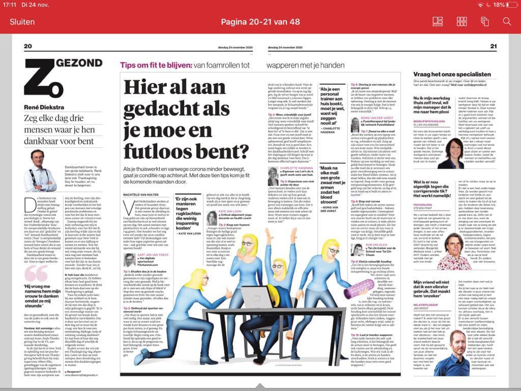 LET'S DO IT in het Algemeen Dagblad