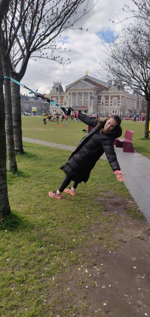 Personal training park Amsterdam