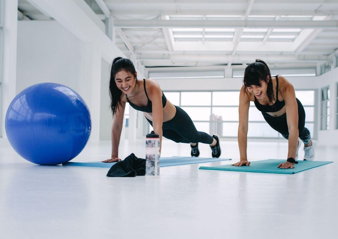 Duo training Maassluis