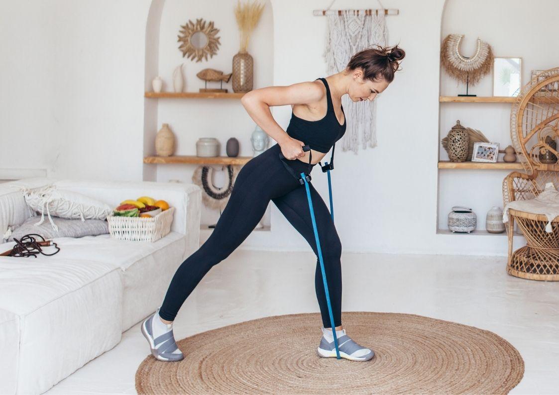 Fitness met Personal trainer