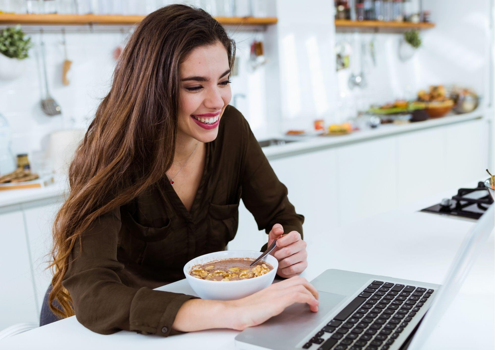 Gezond eten tijdens thuiswerken