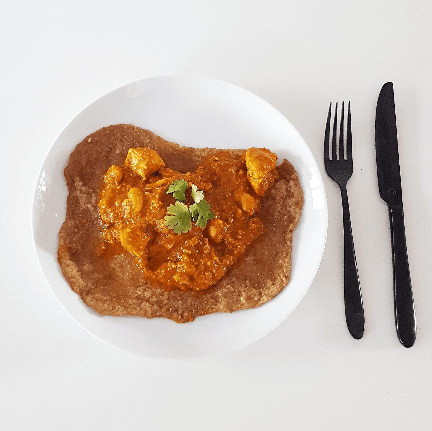 Let´s do it Personal training. Personal trainer aan huis. Curry met kalkoen, cashewnoten en abrikozen 1