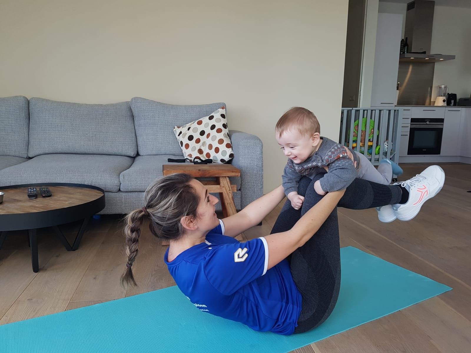 Mama en baby workout6
