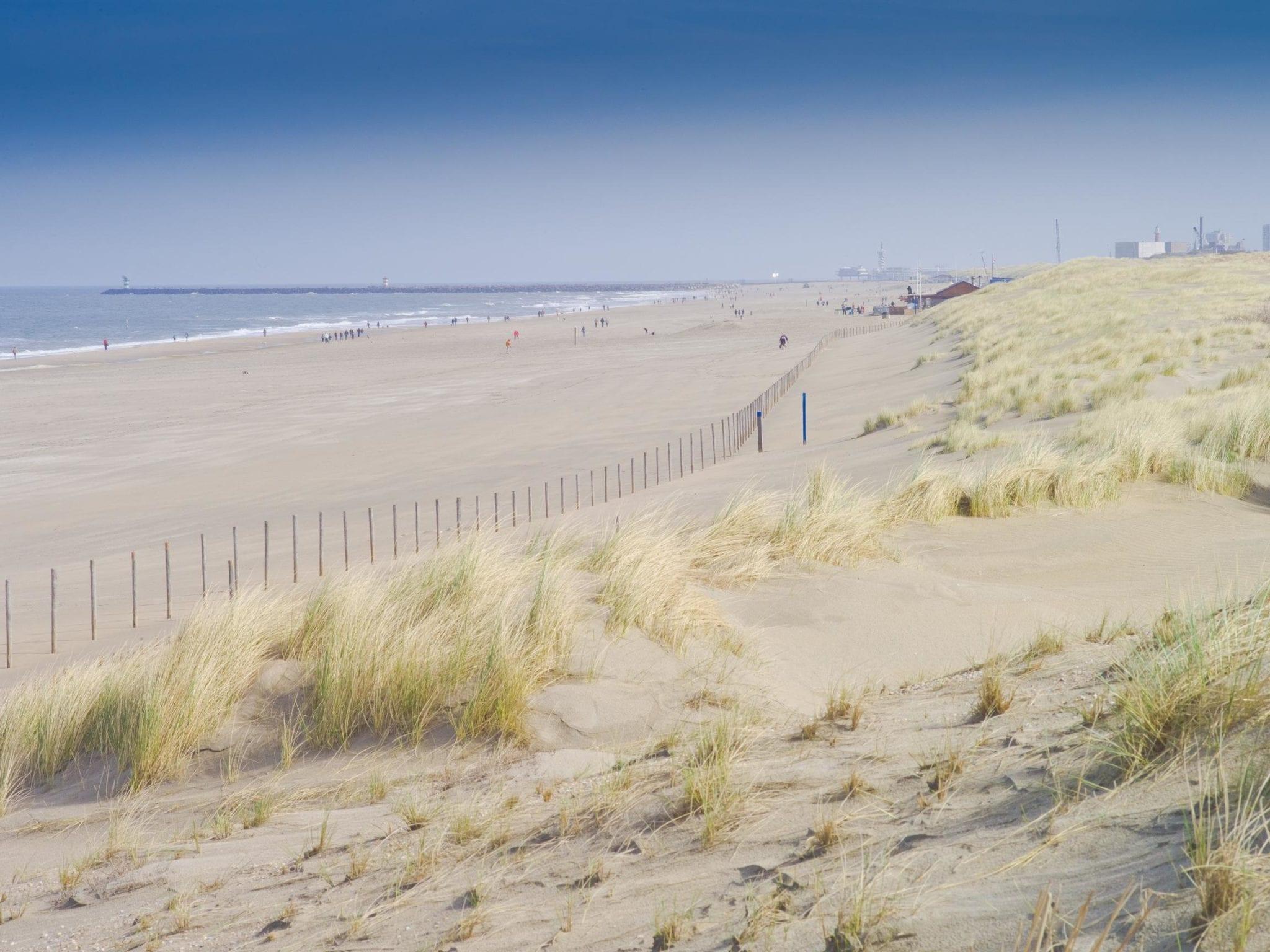 Personal training buiten strand Kijkduin Den Haag