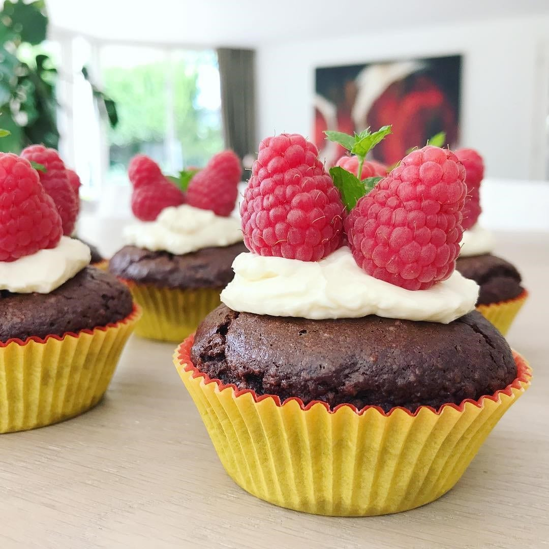 Pure chocolade cupcakes