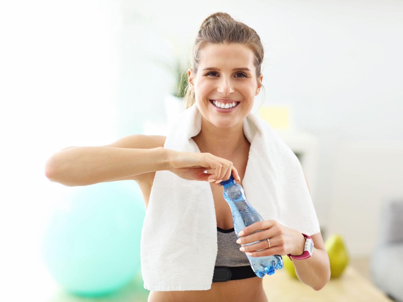 vrouwelijke personal trainer