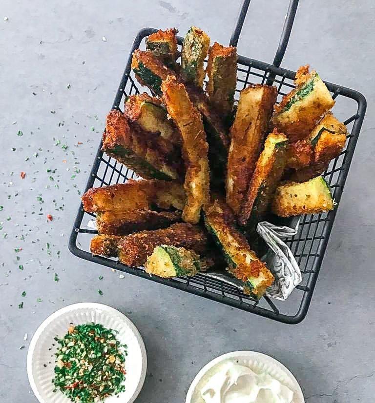 courgette frieten